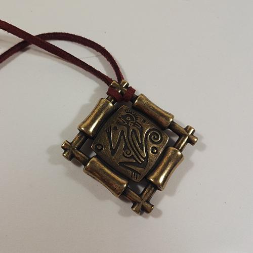 Ketting Ognena Brons een uniek sieraad. In combinatie met armband Ognena Brons en oorbellen Ognena Brons heeft u een uniek setje sieraden. Exclusieve sieraden bij sieradencorner.nl Prijs € 15,00