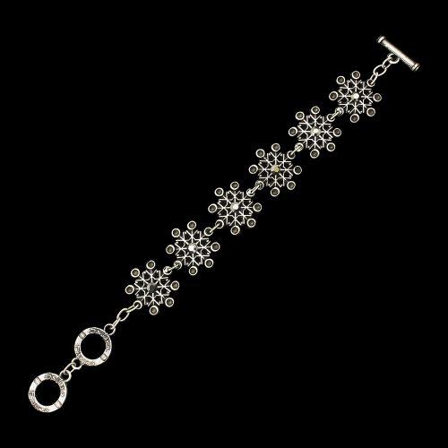 Armband Skazka een uniek sieraad met schakels en een moderne uitstraing. In combinatie met oorbellen Skazka en ketting Skazka heeft u een uniek setje sieraden. Sieraden bij sieradencorner.nlPrijs € 13,00 Sieradencorner.nl heeft klassieke en trendy sieraden