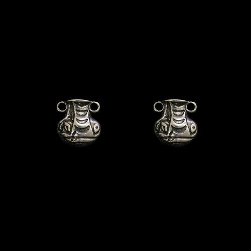 Oorbellen Amfora Ros een uniek sieraad. In combinatie met ketting Amfora heeft u een uniek setje sieraden | sieradencorner.nl