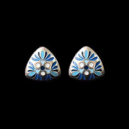 Oorbellen Mayorez Bleu een uniek sieraad. In combinatie met ketting Mayorez Bleu heeft u een uniek setje sieraden | sieradencorner. Verkoopprijs € 9,00