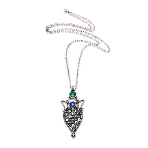 Verzilverde nikkelvrije ketting Miro Prijs € 15,00 Op sieradencorner vind je betaalbare exclusieve sieraden